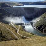 Katse-Dam-Wall